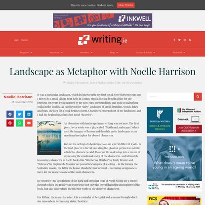Landscape as Metaphor with Noelle Harrison