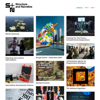 Structure & Narrative - Research & Design by Sjef van Gaalen
