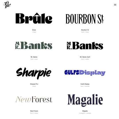 Typeverything - Great fonts by cool designers