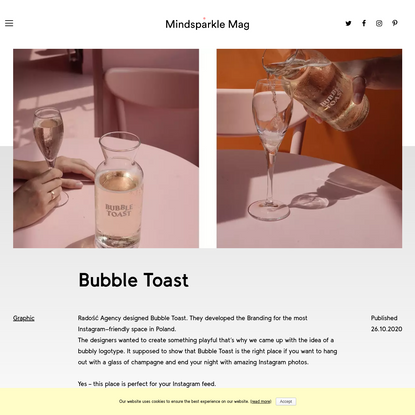 Bubble Toast - Mindsparkle Mag