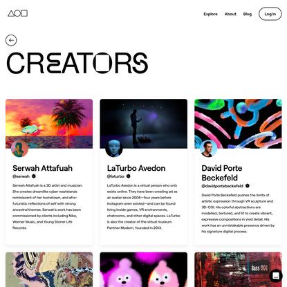 Creators   Foundation