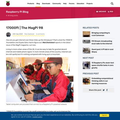 17000ft | The MagPi 98 - Raspberry Pi