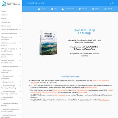Dive into Deep Learning — Dive into Deep Learning 0.15.0 documentation