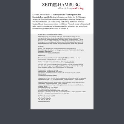 Zeitverlag Newsletter