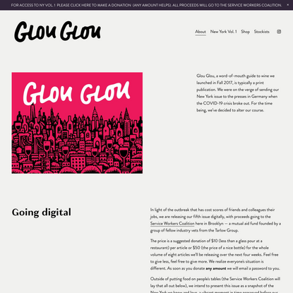 Glou Glou Magazine