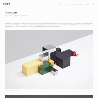 Materialism — Studio Drift