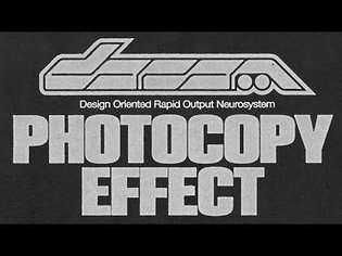 EASY INK BLEED AND PHOTOCOPY TEXTURE EFFECT! (PHOTOSHOP TUTORIAL)