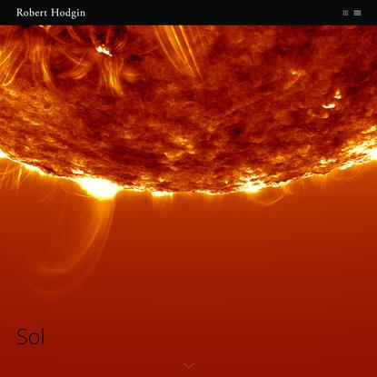 Robert Hodgin › Sol