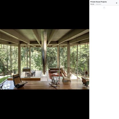Idea 2790519: Casa Biblioteca (Library House) by Atelier Branco Arquitetura in Brazil