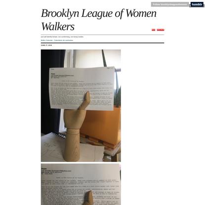 Brooklyn League of Women Walkers