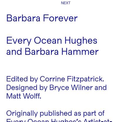Barbara Forever