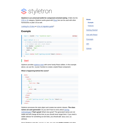 Styletron