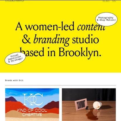 Studio HMVD – A Branding & Content Studio
