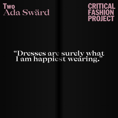 Critical Fashion Project