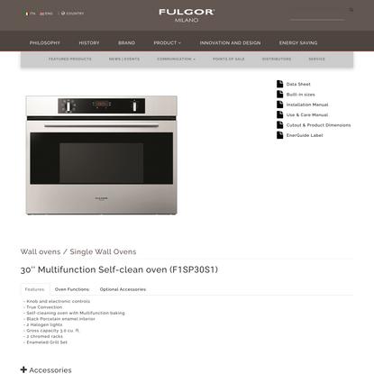 F1SP30S1 - Fulgor Milano