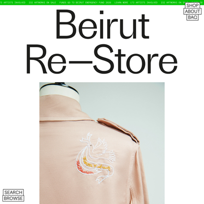 Beirut Re–Store