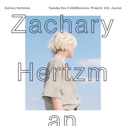 Zachary Hertzman