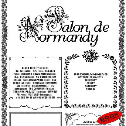 Salon de Normandy by The Community 2020 Edition