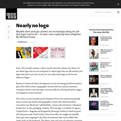 Nearly no logo - Creative Review