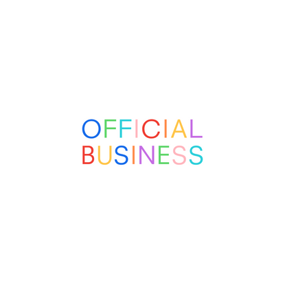 Let's get busy. Official Business — Digital partner for creative brands.