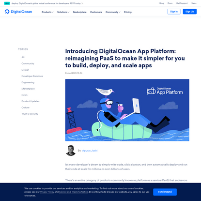 Introducing DigitalOcean App Platform