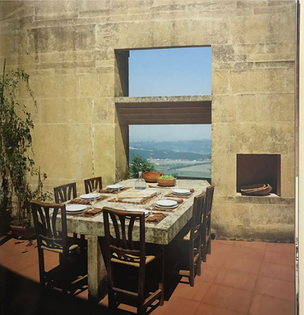 Architect Federico Motterle's self-designed Veneto family home, 1980