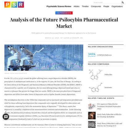 Analysis of the Future Psilocybin Pharmaceutical Market