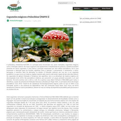 Cogumelos mágicos e Psilocibina! [PARTE 1] - Hempadão