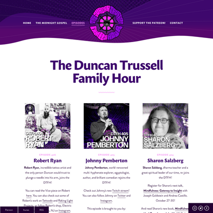 Episodes — Duncan Trussell Family Hour