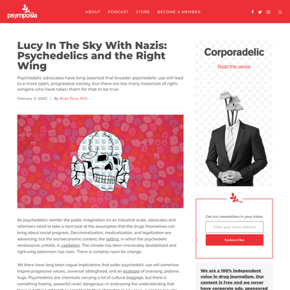 Lucy In The Sky With Nazis: Psychedelics and the Right Wing