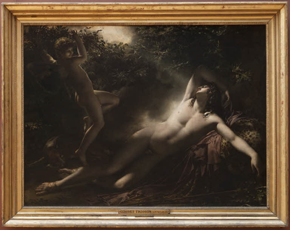 The Sleep of Endymion | Louvre Museum | Paris