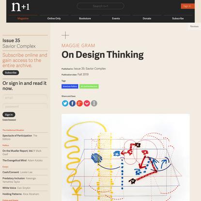 On Design Thinking