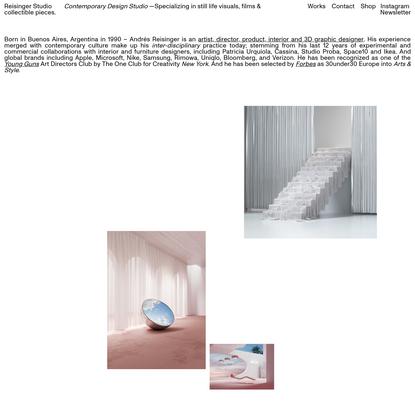 Reisinger Studio - Multidisciplinary Design Studio