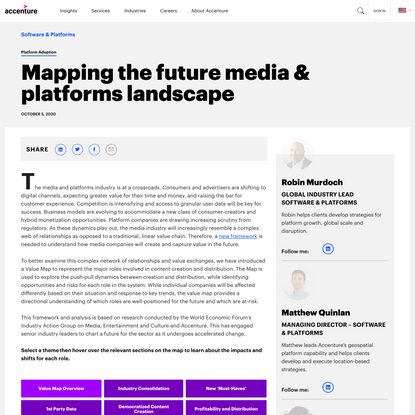 Media and Platforms Value Map | Accenture