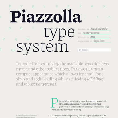 Piazzolla Type System