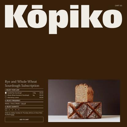 Kōpiko | Kōpiko