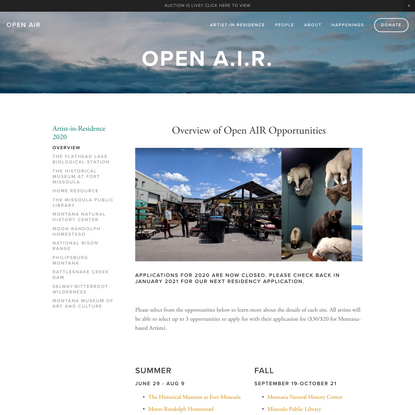 Overview — OPEN AIR