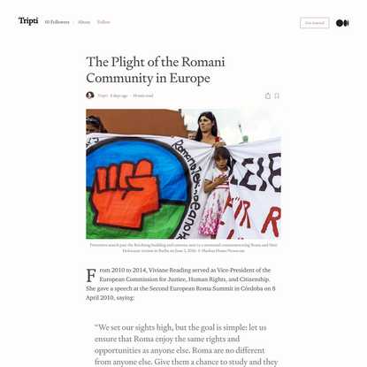 The Plight of the Romani Community in Europe