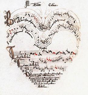 Baude Cordier's Belle, Bonne, Sage (c. 1400)