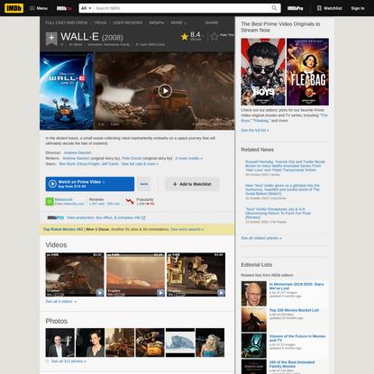 WALL·E (2008) - IMDb