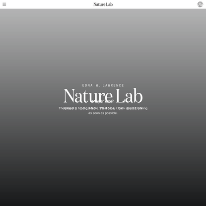 Nature Lab