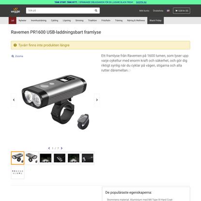 PR1600 USB Rechargeable Front Light