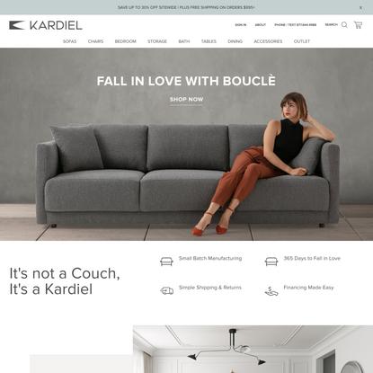 Modern Mid-Century Furniture & Accessories by Kardiel