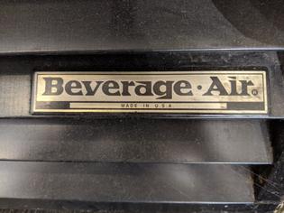 Beverage Air Freezer, E14, Oakland CA