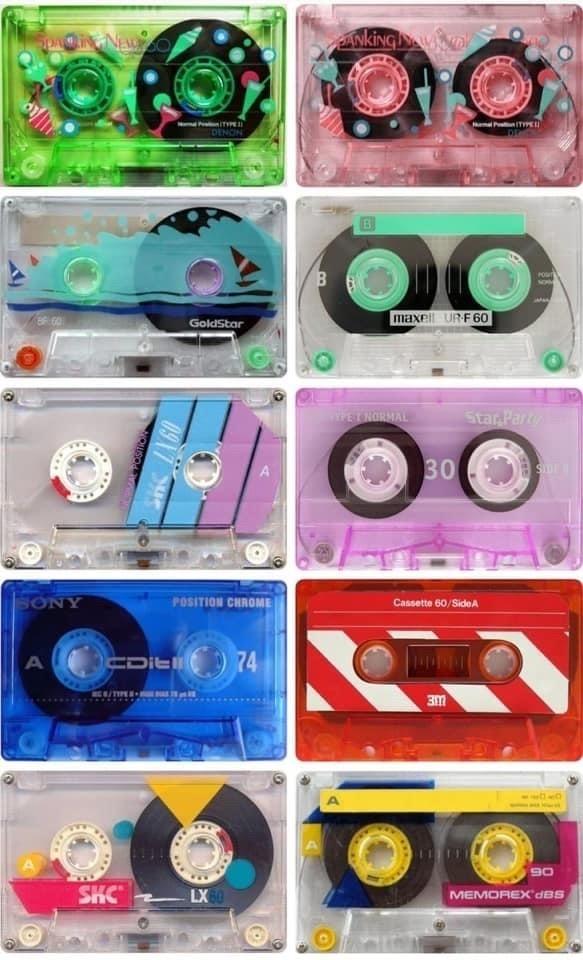 80s cassettes