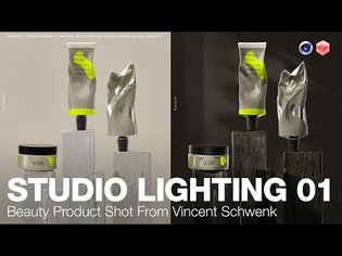 Redshift Studio Lighting 01 - Product Shot Tutorial with Vincent Schwenk
