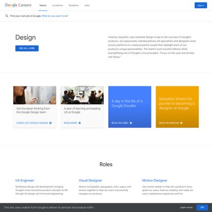 Build for Everyone - Google Careers