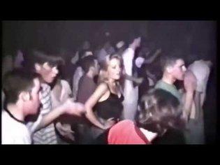 Oldschool techno party rave