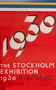 1930 Stockholm exhibition