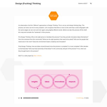 Design (Fucking) Thinking